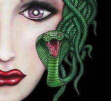 Medusa - Cropped Portrait by HiddenCityArt