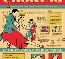 Tango Themed Choking Victim Poster by Equal-Opposite
