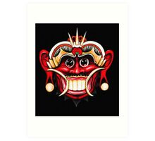 Barong - The Nemesis of Rangda (full) Art Print