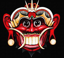 Barong - The Nemesis of Rangda (full) by HiddenCityArt