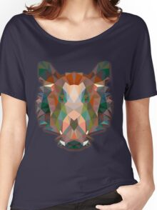 Boar Animals Gift Women's Relaxed Fit T-Shirt