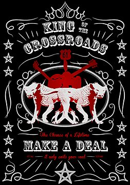 Supernatural - King of the Crossroads - Make a Deal (grey/red, dark) by glassCurtain