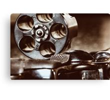 38 Special Revolver Canvas Print