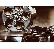 38 Special Revolver Photographic Print