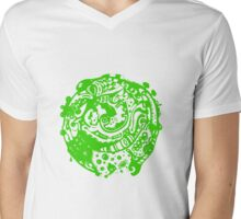 A whole new world - Green Mens V-Neck T-Shirt