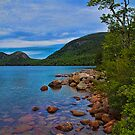 USA. Maine. Acadia National Park. Jordan pond. by vadim19