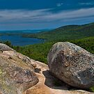 USA. Maine. Acadia National Park. Bubble Trail Summit. by vadim19