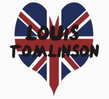 Louis Tomlinson Heart by Julia Kolos