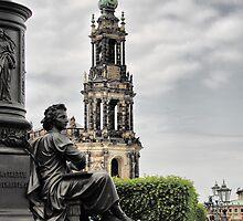 A Corner of Dresden (2) by Bernai Velarde