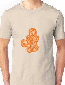 Lady bug - Orange Unisex T-Shirt
