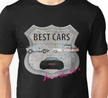 Best cars form the 80's Unisex T-Shirt