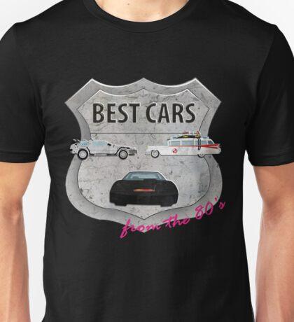 Best cars form the 80's Unisex T-Shirt