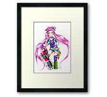Slayer Jinx Framed Print
