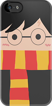 Harry Potter Iphone Case by Mhaddie