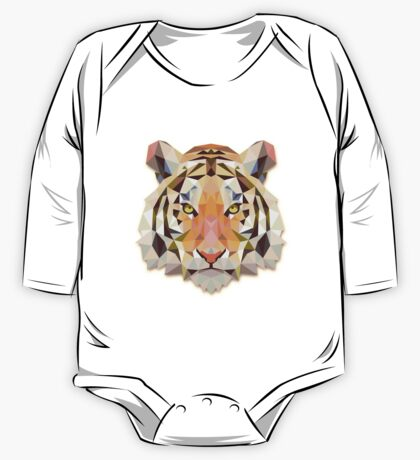 Tiger Animals Gift One Piece - Long Sleeve