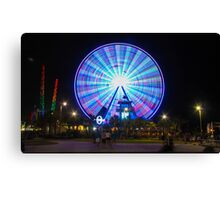 Saturday Night Lights  Canvas Print