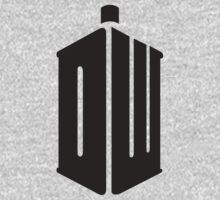 Doctor Who Logo Typography by yogags