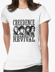 Creedence clearwater revival Womens Fitted T-Shirt