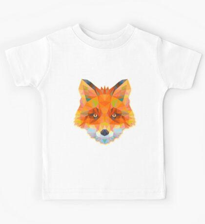 Fox Animals Gift Kids Tee