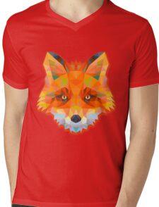 Fox Animals Gift Mens V-Neck T-Shirt