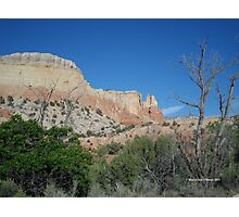 Ghost Ranch Rocks Photographic Print