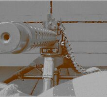down the barrel of a gun by bundug