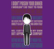 Cute Hannibal Lecter / HANNIBAL quotes by koroa