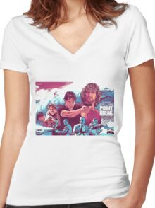 Point Break 2015 great pic Women's Fitted V-Neck T-Shirt
