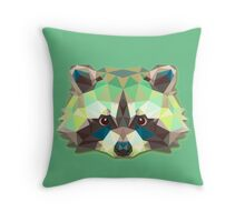 Raccoon Animals Gift Throw Pillow