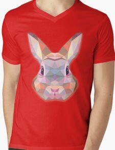 Rabbit Hare Animals Gift Mens V-Neck T-Shirt