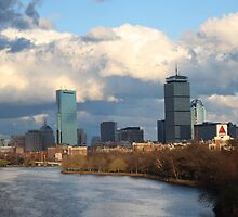 Charles River and the Prudential Center by Tooka