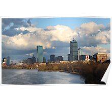 Charles River and the Prudential Center Poster
