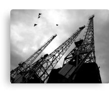 Constitution Cranes.  Canvas Print