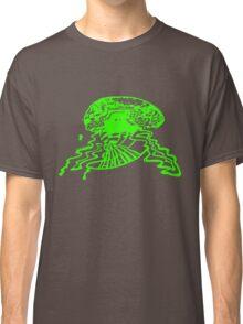 Brain storm - Green Classic T-Shirt