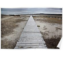 Sandwich Boardwalk Poster