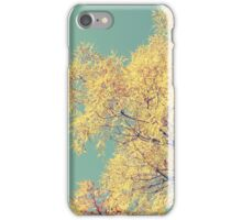 Golden Retro iPhone Case/Skin