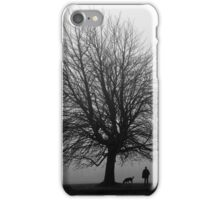 Man And His Best Friend iPhone Case/Skin