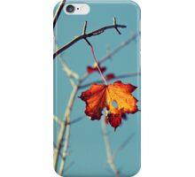 Last Leaf On The Tree iPhone Case/Skin