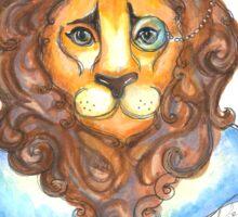 Dandy Lion Sticker