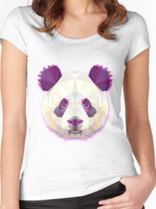 Panda Bear Animals Gift Women's Fitted Scoop T-Shirt