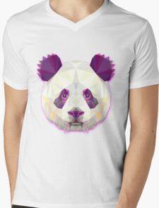 Panda Bear Animals Gift Mens V-Neck T-Shirt