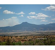 Pedernal in Northern New Mexico II Photographic Print
