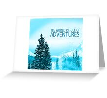 Adventures Greeting Card