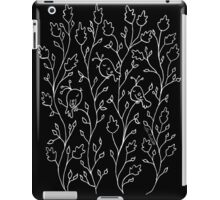 Three Little Birds (white line) iPad Case/Skin