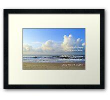 Secret Of The Sea Framed Print