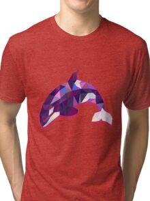 Orca Animals Gift Tri-blend T-Shirt