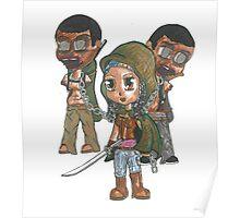 Zombie Samurai Poster