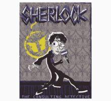 NOODLE BOY SHIRT!!!!!!!!!!!! ft. Sherlock Kids Tee