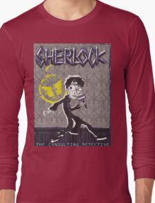 NOODLE BOY SHIRT!!!!!!!!!!!! ft. Sherlock Long Sleeve T-Shirt
