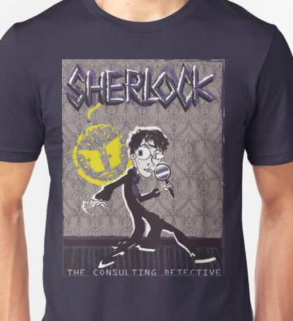 NOODLE BOY SHIRT!!!!!!!!!!!! ft. Sherlock Unisex T-Shirt